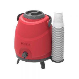 Botijão Térmico Estacionário Aspen 9L Vermelho
