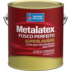 Metalatex Acrílico Fosco Branco 3,6L
