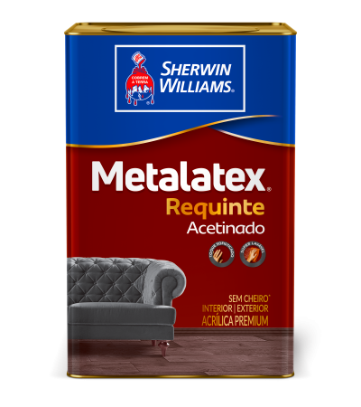 Metalatex Requinte Acetinado Branco Neve 18L