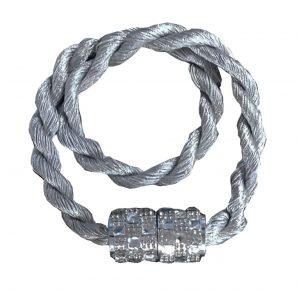 Abraçadeira Infinity Com Imã Prata