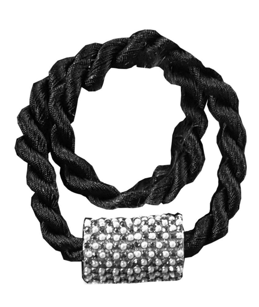 Abraçadeira Infinity Com Imã Preto