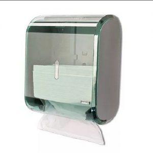 Dispenser Multiplo Urban Glass Verde para Papel Toalha