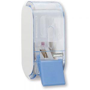 Dispenser Saboneteira Compacta Azul 400ml