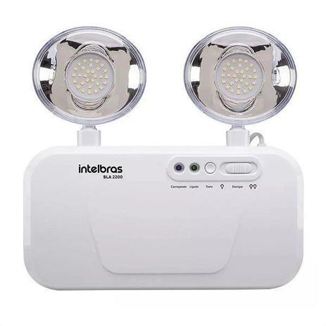 Luminária de Emergência Intelbras BLA 2200