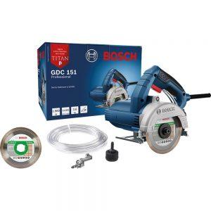 Serra Mármore a Úmido GDC 151 1500W com Kit Refrigeração + Disco Bosch