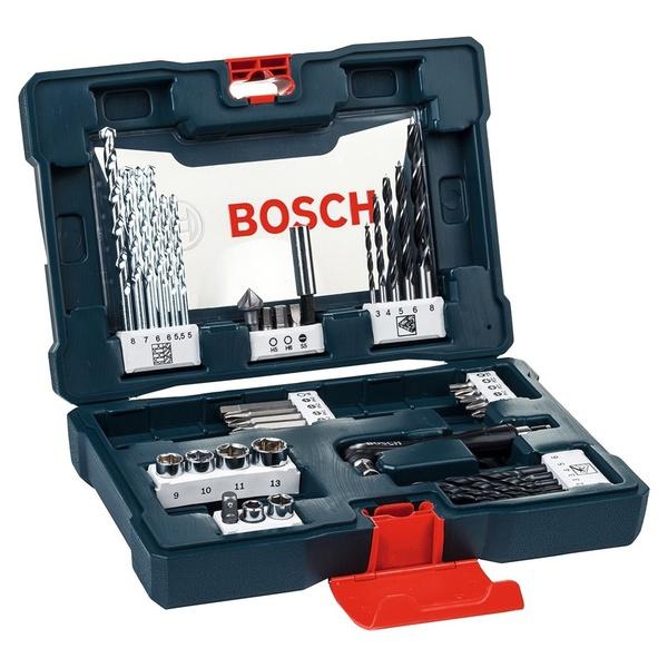 Mala de Acessórios V-Line com 41 peças – Bosch
